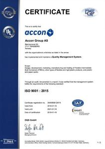 Accon ISO 9001 : 2015